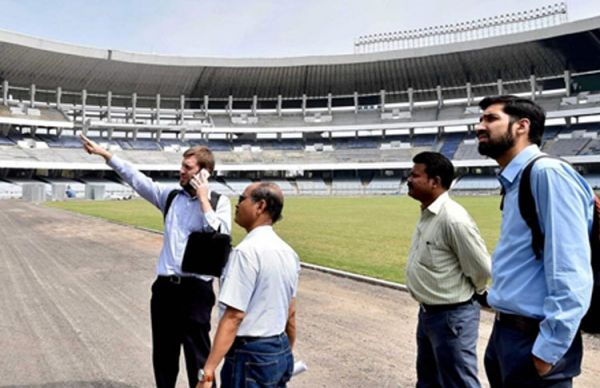 FIFA team inspects Salt Lake Stadium