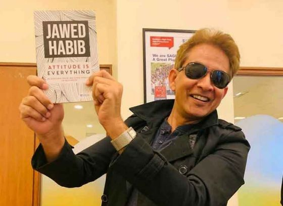 Jawed Habib to arrive in town for his book release