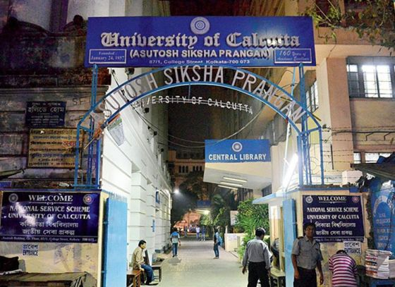 Calcutta University's noble venture