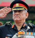 General Bipin Rawat appointed as the first CDS
