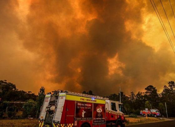Australia's bushfires to have an effect on world environment