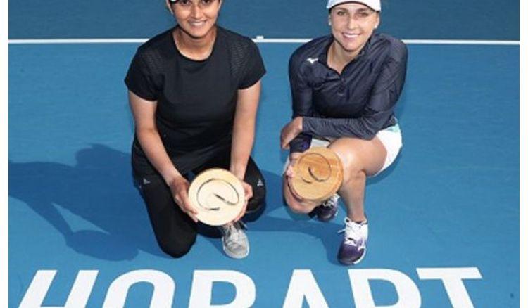 Sania Mirza won Hobart international championship