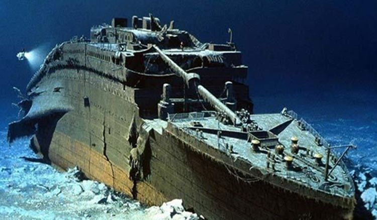 RMS Titanic wreckage damaged by severe corrosion