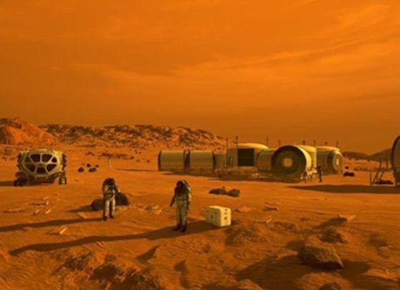 People to settle on Mars?