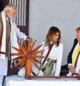 Trump visits Sabarmati Ashram
