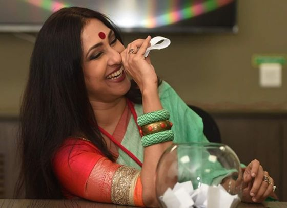 Rituparna Sengupta Inaugurates Prem's Collection