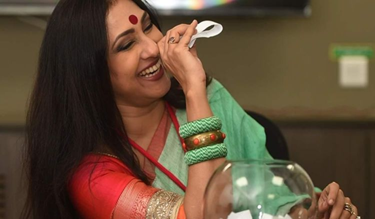 Rituparna Sengupta Inaugurates Prem's Collection