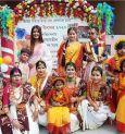 Gala Holi party for Priyanka Sarkar