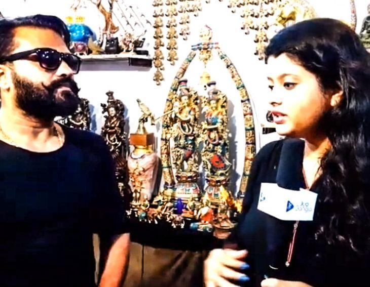 Antique Goods stall at India International Mega Trade Fair
