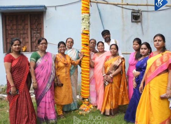 Jiyo Bangla Sharod Samman | Chakraberia Sarbojanin Durgotsab | Khuti Puja