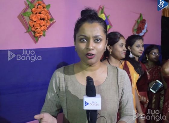 Haltu NandiBagan   Khuti Puja   Jiyo Bangla Sharod Samman 2019