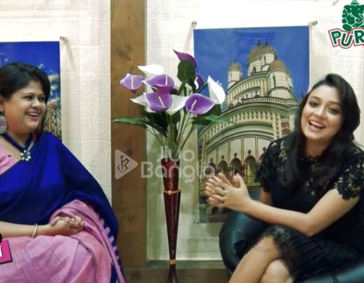 Exclusive Interview of Actress Sudipta Chakraborty | Chhoto Pordaar Saatkaahon