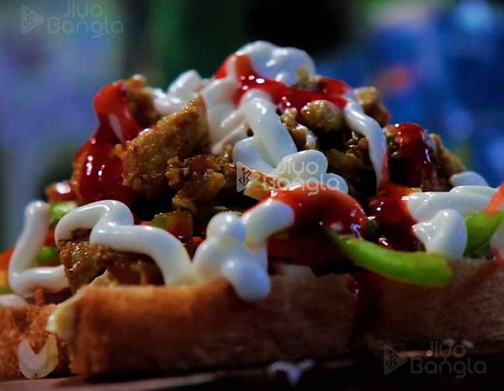 Is this the Cheesiest Sandwich in Kolkata?