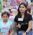 Customers on M-Baazar's Special Puja Offer