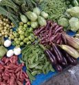 Winter's Vegetable market